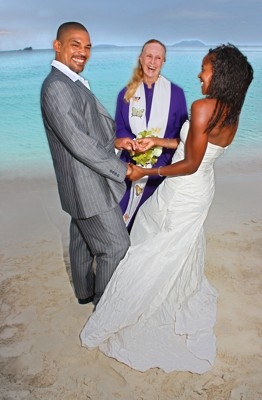 Anne Marie Porter Barefoot Beach Weddings